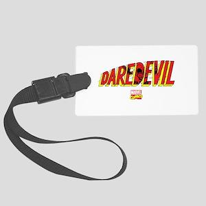 Daredevil Logo Large Luggage Tag
