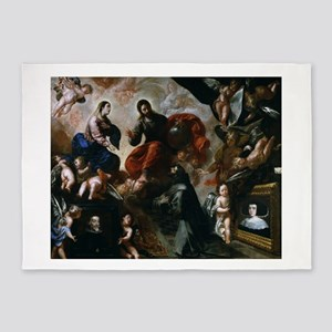 Francisco Caro - St Francis - 1659 - Painting 5'x7