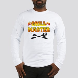 Grill Master Shirt Long Sleeve T-Shirt