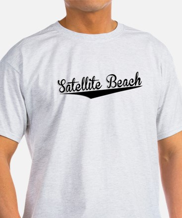 Satellite Beach, Retro, T-Shirt