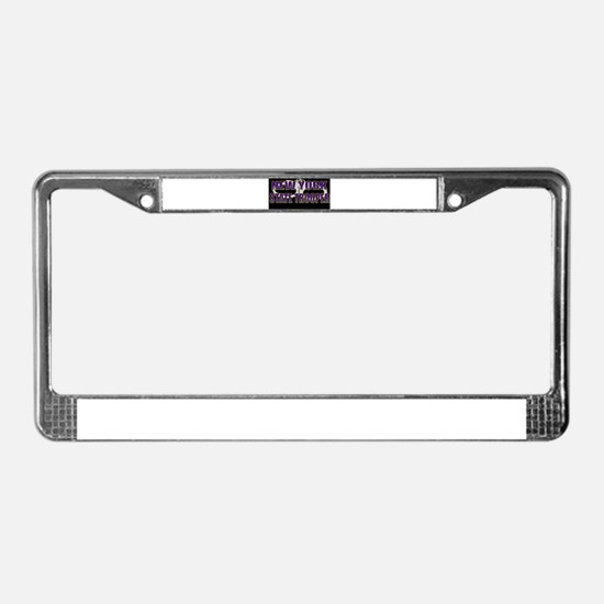 Unique Police k9 License Plate Frame