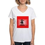 Women's V-Neck Dance T-Shirt