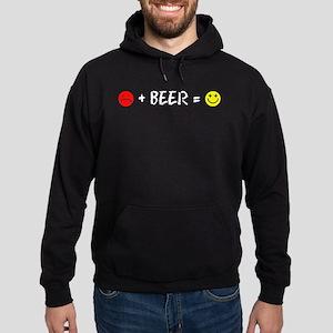 Plus Beer Is Happiness Hoodie