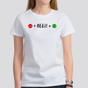 Plus Beer Is Happiness T-Shirt