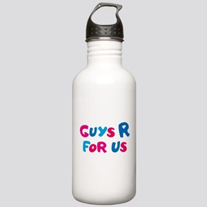 Guys Are For Us Water Bottle