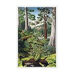 Canadian Landscape Painting Mini Poster Print Art
