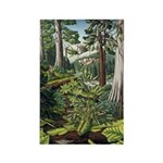 Canadian Landscape Painting Fridge Magnet Art