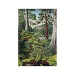 Canadian Landscape Painting Fridge Magnet Art