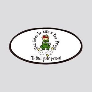 Kiss A Few Frogs Patches