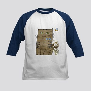 Smily Kitty Baseball Jersey