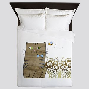 Smily Kitty Queen Duvet