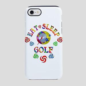 Eat Sleep Golf iPhone 7 Tough Case