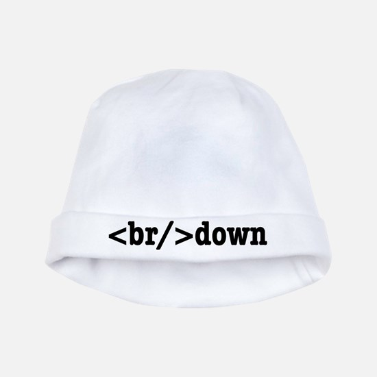 breakdown HTML baby hat
