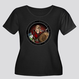 NROL-79 Women's Plus Size Scoop Neck Dark T-Shirt
