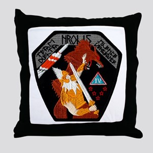 NROL-15 Launch Team Throw Pillow