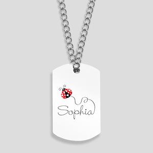 Ladybug Sophia Dog Tags