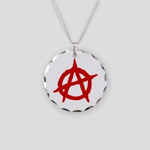 Anarchist 1 (red) Necklace