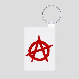 Anarchist 1 (red) Keychains