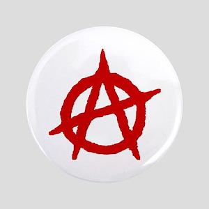 "Anarchist 1 (red) 3.5"" Button"