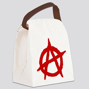 Anarchist 1 (red) Canvas Lunch Bag