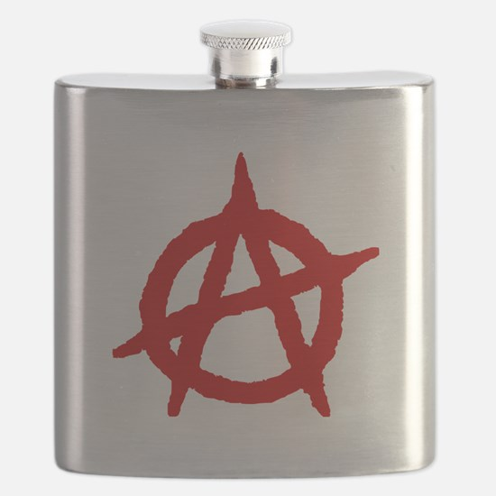 Anarchist 1 (red) Flask