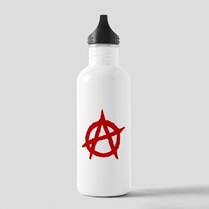 Anarchist 1 (red) Water Bottle