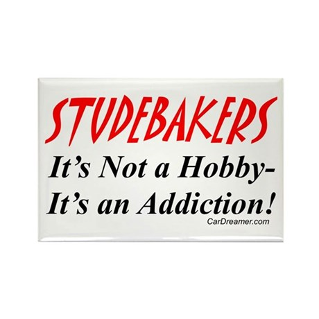 Studebaker Addiction Rectangle Magnet (10 pack)