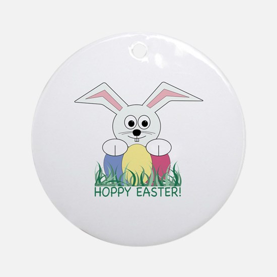 Hoppy Easter! Ornament (Round)