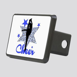 Blue Cheerleader Hitch Cover