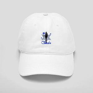 Blue Cheerleader Baseball Cap