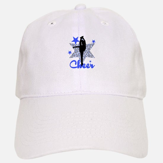 Blue Cheerleader Baseball Cap