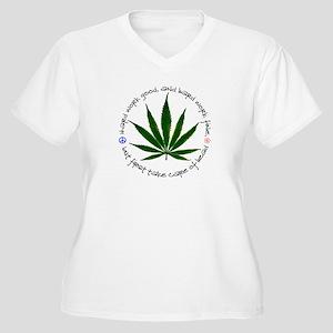 Cannabis Plus Size T-Shirt