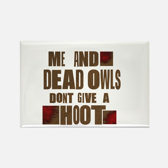 Raylan and Dead OwlsI Magnets