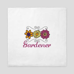 gardener Queen Duvet