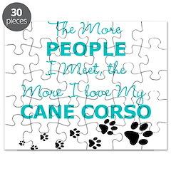 I Love My Cane Corso Puzzle