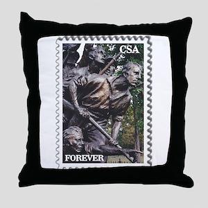 North Carolina Monument - Gettysburg Throw Pillow