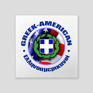 Greek-American Sticker