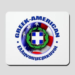 Greek-American Mousepad