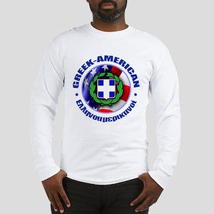 Greek-American Long Sleeve T-Shirt