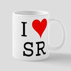 I Love SR Mug