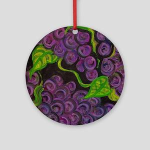 Vino Ornament (Round)
