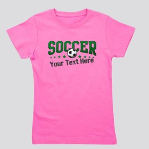 Soccer Personalized Girl's Tee