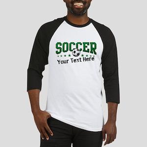 Soccer Personalized Baseball Jersey