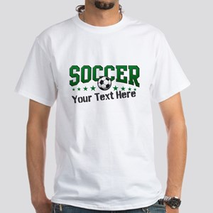 Soccer Personalized White T-Shirt