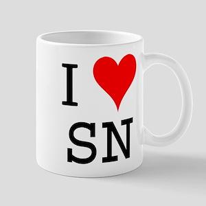 I Love SN Mug