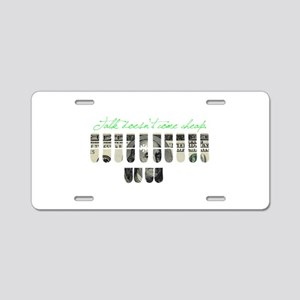 TDC Aluminum License Plate
