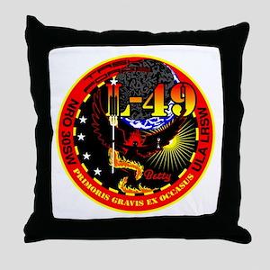 NROL 49 Launch Throw Pillow