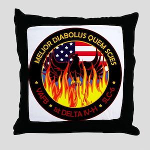 NROL 49 Program Throw Pillow