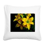 Waiting for the light Square Canvas Pillow