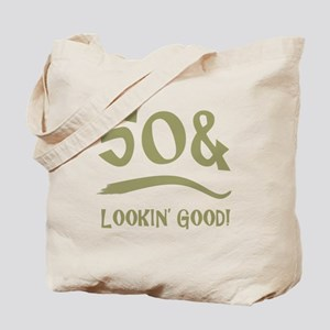 50th Birthday Humor Tote Bag
